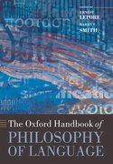 Cover for The Oxford Handbook of Philosophy of Language