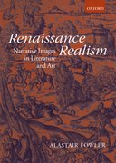 Cover for Renaissance Realism