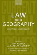 Cover for Law and Geography