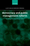 Cover for Democracy and Public Management Reform