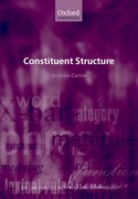 Cover for Constituent Structure
