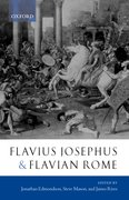 Cover for Flavius Josephus and Flavian Rome