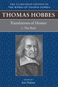 Cover for Thomas Hobbes Translations of Homer