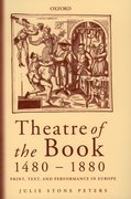 Cover for Theatre of the Book 1480-1880