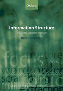 Information Structure The Syntax-Discourse Interface