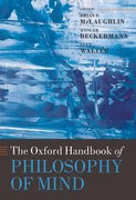 Cover for The Oxford Handbook of Philosophy of Mind