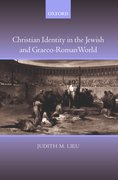 Cover for Christian Identity in the Jewish and Graeco-Roman World