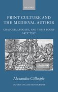 Cover for Print Culture and the Medieval Author