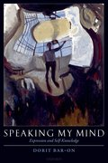 Cover for Speaking My Mind
