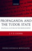 Cover for Propaganda and the Tudor State
