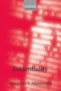 Cover for Evidentiality