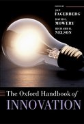 Cover for The Oxford Handbook of Innovation