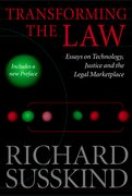 Cover for Transforming the Law