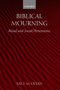 Cover for Biblical Mourning