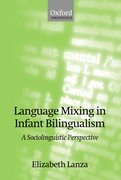 Cover for Language Mixing in Infant Bilingualism
