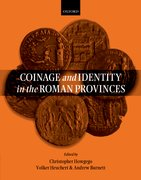 Cover for Coinage and Identity in the Roman Provinces