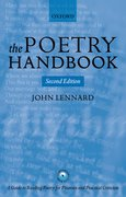 Cover for The Poetry Handbook