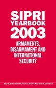 Cover for SIPRI YEARBOOK 2003