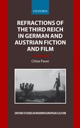 Cover for Refractions of the Third Reich in German and Austrian Fiction and Film