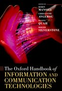 Cover for The Oxford Handbook of Information and Communication Technologies