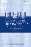 Cover for Learning from Six Philosophers