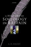 Cover for A History of Sociology in Britain
