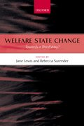 Cover for Welfare State Change