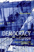 Cover for Democracy in Europe