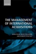 Cover for The Management of International Acquisitions