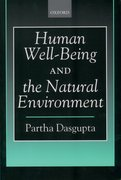 Cover for Human Well-Being and the Natural Environment