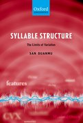 Syllable Structure The Limits of Variation