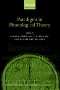 Cover for Paradigms in Phonological Theory