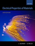 Solymar & Walsh: Electrical Properties of Materials: 7e