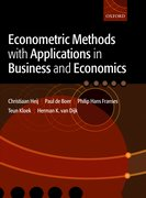 Cover for Econometric Methods with Applications in Business and Economics