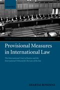 Cover for Provisional Measures in International Law