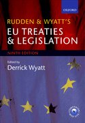 Cover for Rudden and Wyatt