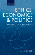 Cover for Ethics, Economics and Politics