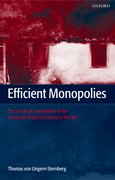 Cover for Efficient Monopolies