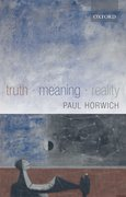 Cover for Truth -- Meaning -- Reality