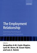 Cover for The Employment Relationship