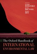 Cover for The Oxford Handbook of International Environmental Law