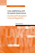 Cover for Law, Legitimacy, and European Governance