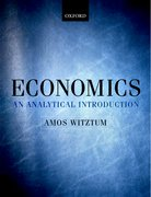 Witztum: Economics - An Analytical Introduction
