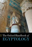 Cover for The Oxford Handbook of Egyptology