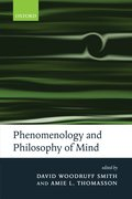 Cover for Phenomenology and Philosophy of Mind