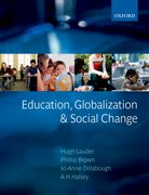 Cover for Education, Globalization and Social Change