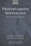 Cover for Proportionate Sentencing