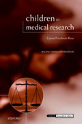 Cover for Children in Medical Research