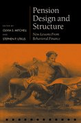 Cover for Pension Design and Structure