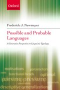 Cover for Possible and Probable Languages